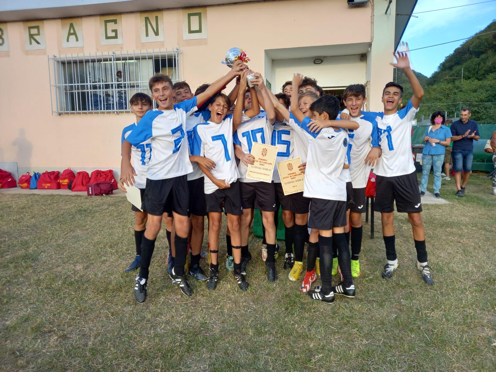 Torneo Città di Carcare: gli under 15 del Varazze primi su otto squadre partecipanti